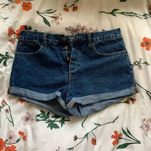 Button Fly Forever 21 Shorts